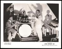 Group portrait of Louis Jordan and his orchestra