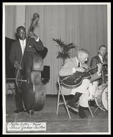 Keter Betts, Steve Jordan and Jake Hanna perform at the Manassas Jazz Festival, Manassas, VA, July 1966