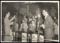 Felix Grant and the Boyd Raeburn orchestra at Club Kavakos, Washington, D.C., 1947