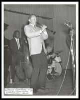 Tommy Gwaltney, Keter Betts and Steve Jordan perform at the Manassas Jazz Festival, Manassas, VA, July 1966