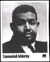 Portrait of Cannonball Adderley