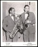 Portrait of Dick Wilson and Don Byas