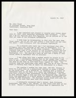 Letter from Felix Grant to Gary Blond, March 31, 1989