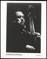 Portrait of Charles Mingus