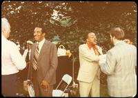 Ray Brown at a jazz concert at the White House on the occasion of the 25th Anniversary of the Newport Jazz Festival, Washington, D.C., June 18, 1978