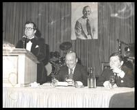 "Mark Russell, Felix Grant, and John Tower at ""A Roast of and Jam Session for Felix Grant,"" National Press Club, Washington, D.C., 1979"