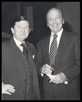 "John Tower and Felix Grant at ""A Roast of and Jam Session for Felix Grant,"" National Press Club, Washington, D.C., 1979"