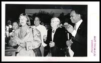 Fauneé, Ulysses 'Blackie' Auger, June Grant, Congressman Walter Fauntroy at the Dedication of Duke Ellington's birth site, Washington, D.C., 1989