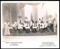Group portrait of Snookum Russell and his orchestra
