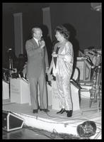 Felix Grant and Shirley Horn at the Indian Spring Country Club, Silver Spring, MD, 1988