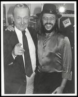 Felix Grant and Chuck Mangione at Wax Museum, 1982