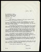 Letter from Felix Grant to Ulysses G. Auger, April 5, 1989