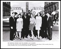 Group portrait of the Swingle Singers and the Modern Jazz Quartet