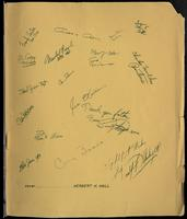 "Commemorative booklet entitled ""Lorton Jazz Festival of 1960"" from Catholic Chaplain, Department of Corrections, The Reformatory Division Father Carl J. Breitfeller to Felix Grant, Lorton, VA, 1960"