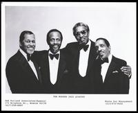Group portrait of the Modern Jazz Quartet